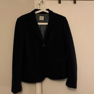 Navy Gap Wool Academy Blazer 8
